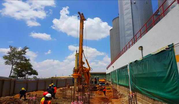 Tusker factory development, Nairobi