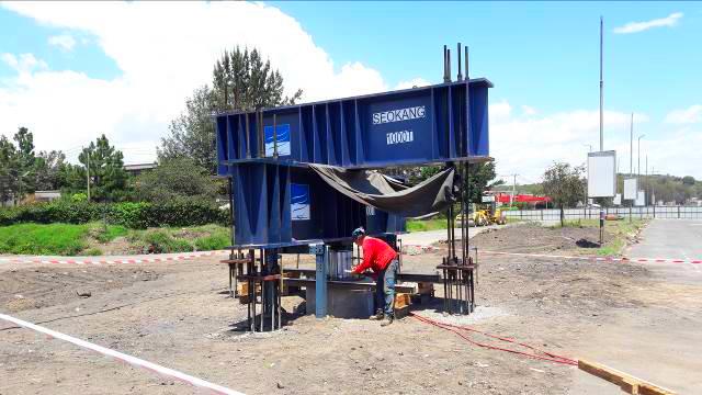 Nakuru-Nyahururu Road Construction