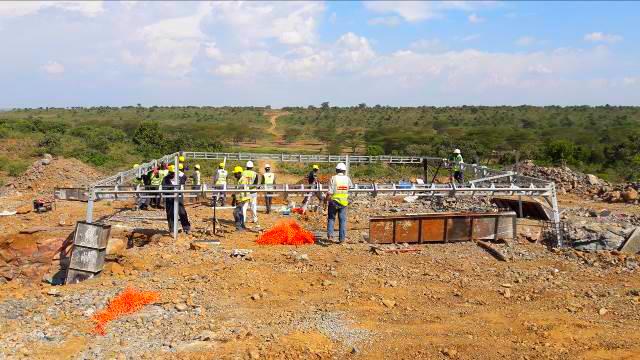 400kV Loyangalani-suswa TR Line, Phase 1